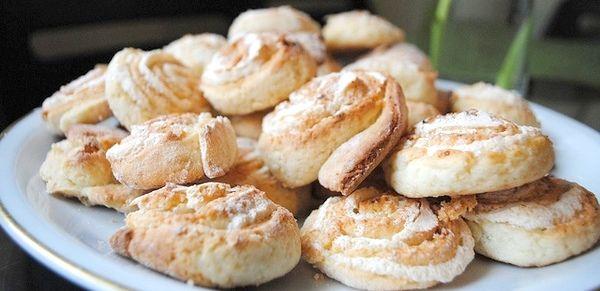 печенье поцелуйчики приготовление