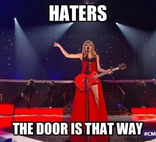 Sassmaster Level: Taylor swift.
