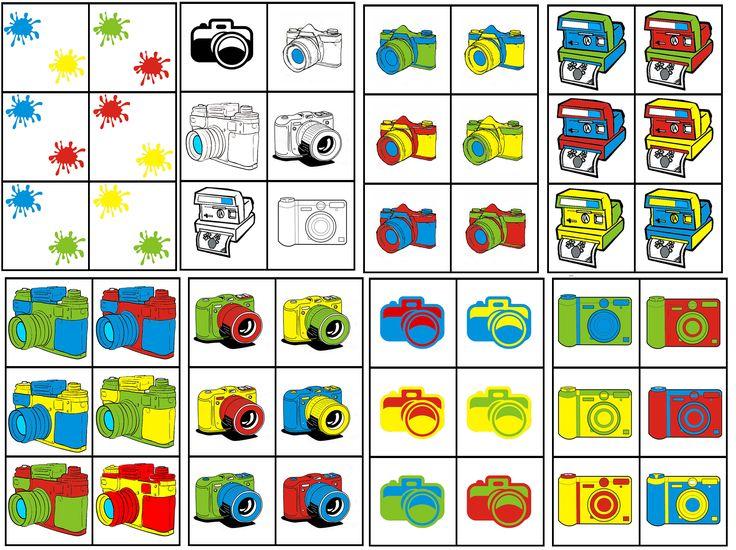 matrix fotograaf: fototoestel combineren met 2 kleuren