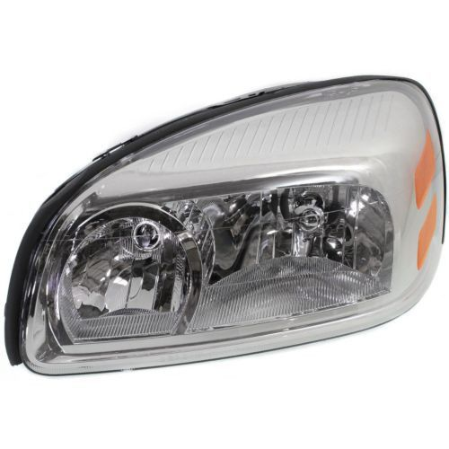 2005-2009 Chevy Uplander Head Light LH, Composite, Assembly, Halogen - Capa