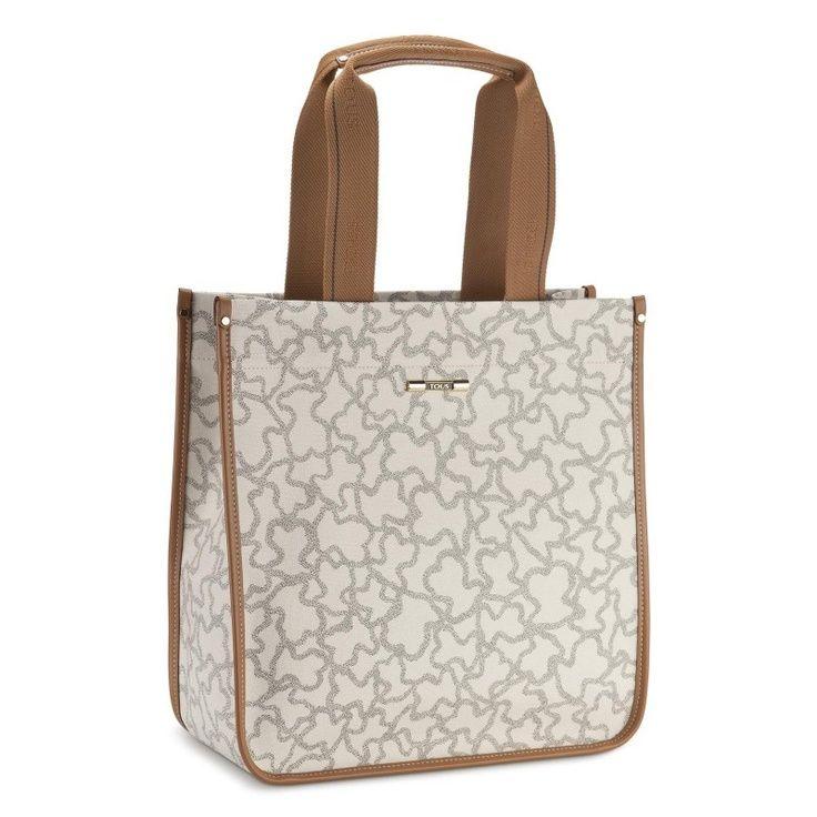 TOUS Handbag KN-112 Sand-Black