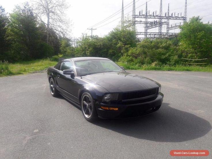 2008 Ford Mustang Bullitt #ford #mustang #forsale #unitedstates
