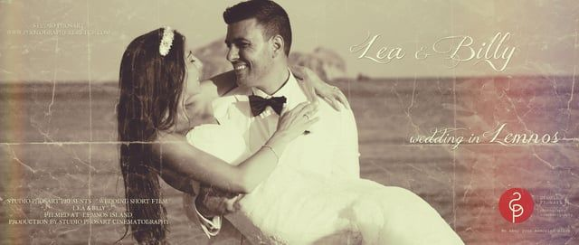 Lea & Billy | Wedding Short Film in Lemnos | by Phosart