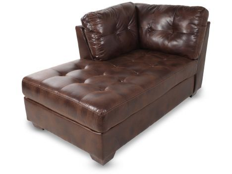 ash8230316 ashley frontier canyon left arm facing corner chaise mathis brothers furniture brothers sofasliving room