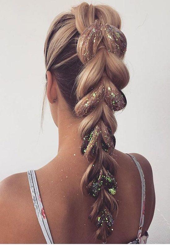Prom Frisuren und Hochsteckfrisuren für langes Haar