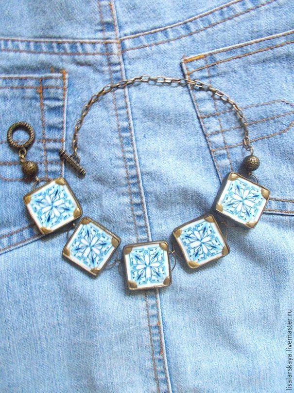 Лепим оригинальное ожерелье из полимерной глины - Ярмарка Мастеров - ручная работа, handmade