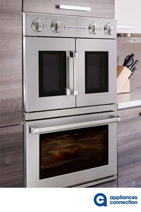 The 30 Legacy Series French Door Drop Down Gas Double Wall Oven