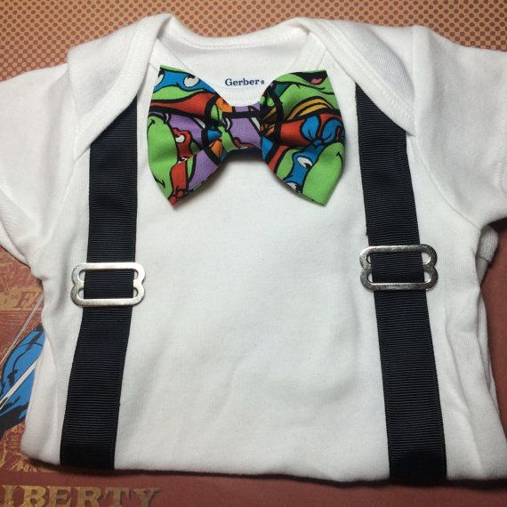 Hey, I found this really awesome Etsy listing at https://www.etsy.com/listing/213664681/ninja-turtles-onesies