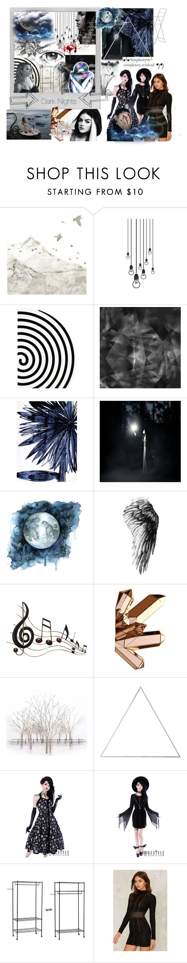 """""""Dancing in the Starlight"""" by duluoz ❤ liked on Polyvore featuring beauty, Polaroid, WALL, Boudicca, Altreforme, Leftbank Art, Lauren Ralph Lauren, Benzara, Home Decorators Collection and Menu"""