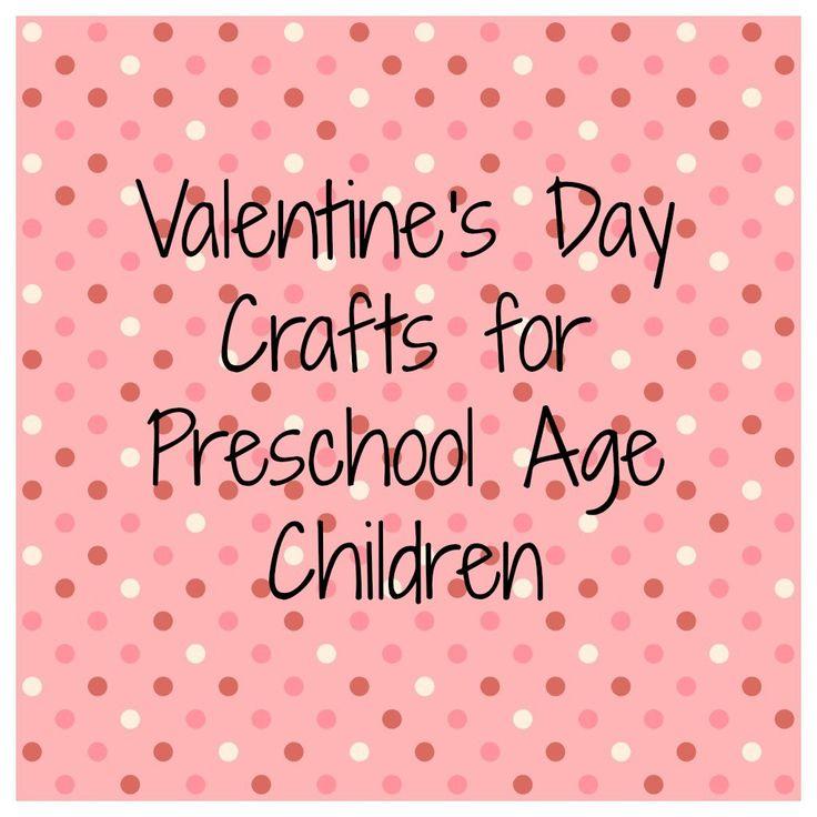 Valentine S Preschool Crafts Valentines Pinterest