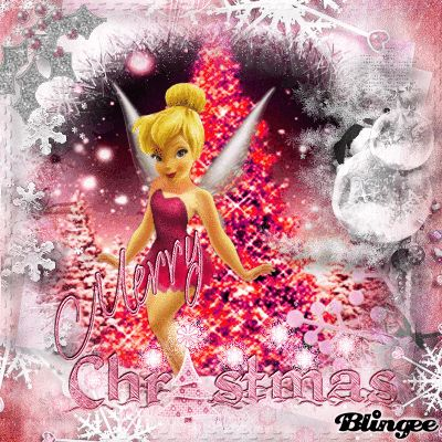 MERRY+CHRISTMAS/CLOCHETTE/TINKERBELL