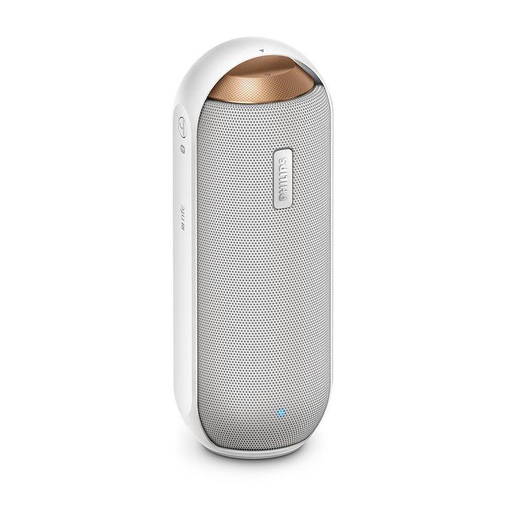PHILIPS BT6000B/37 Splashproof Bluetooth® NFC Speaker