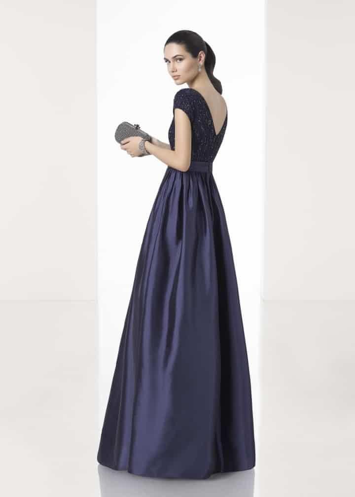 Moderno Vestido De Dama De Nyc Molde - Ideas para el Banquete de ...