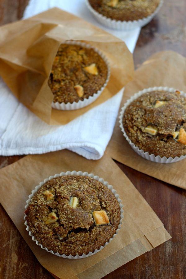 Schokoladenbuttermilch & weiße Schokolade Brocken Muffins | Eine Tasse Mascarpone