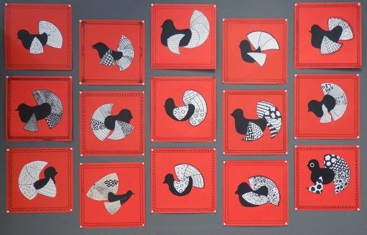 Anna idean kiertää!: Karjalan käkiä zentangle-kuvioiden avulla