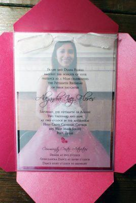 Michaels Quinceanera Invitations