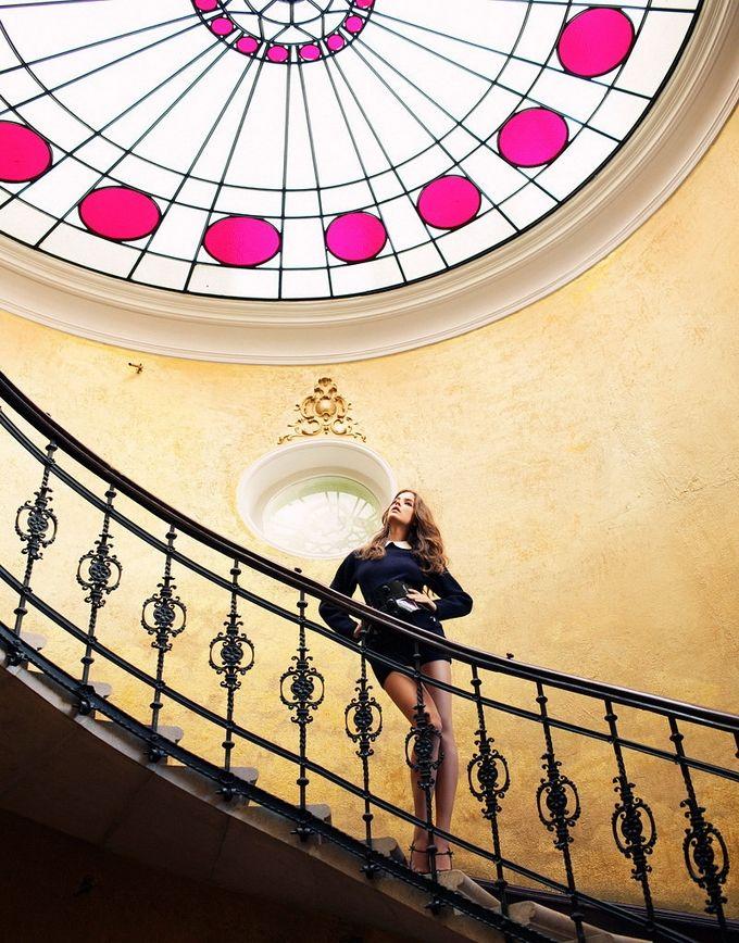 Очаровательная Барбара Пэлвин для журнала Elle Hungary