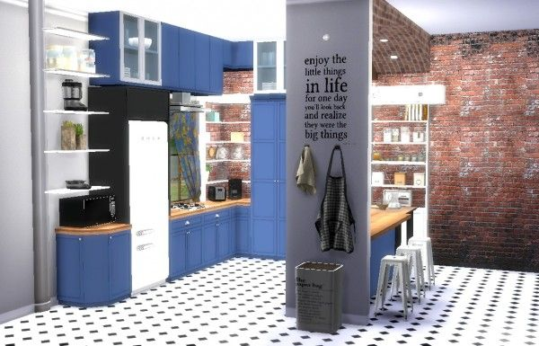 Sims4Luxury: Kitchen 2 • Sims 4 Downloads