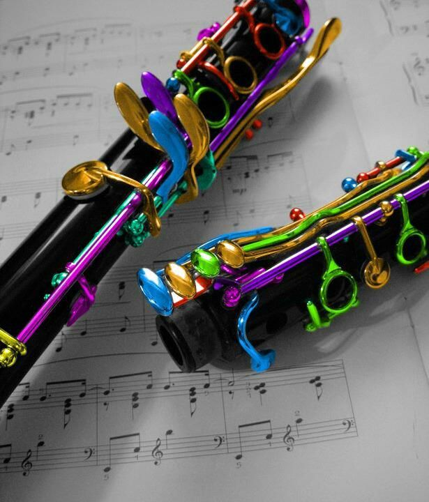 """Colorful clarinet """")"""