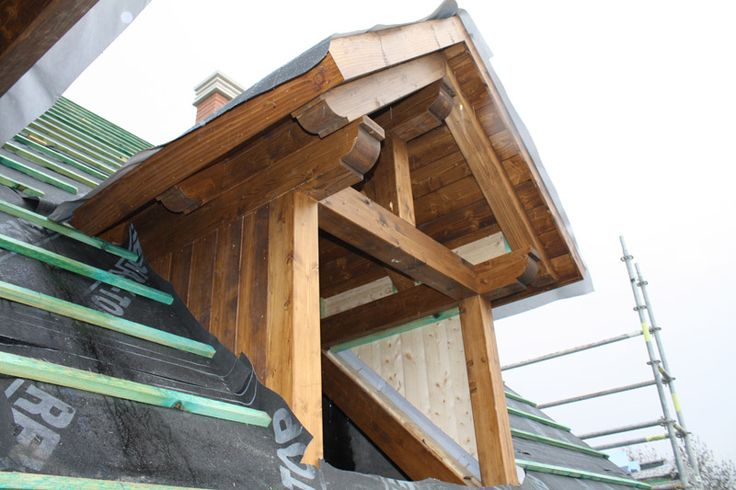 20 best images about tejados cubiertas y aleros de madera - Tejados de madera ...