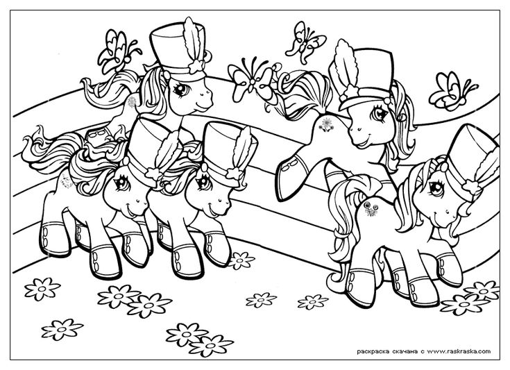 My Little Pony G3 Coloring Pages : My little pony coloring pages  disney