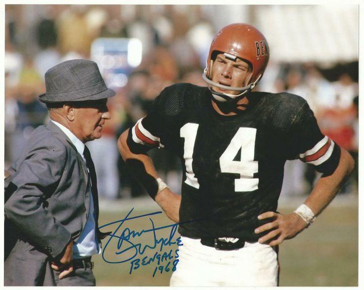 Sports-Football-Cincinnati Bengals, American Football League, AFL-Vintage-1968-Sam Wyche & Paul Brown