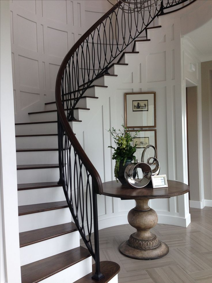 Toll brothers | Great Staircase and Entry Design