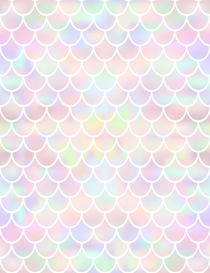 Colorful Fish Sacle Pattern Texture Photography Backdrop J 0374 Mermaid Wallpapers Texture Photography Mermaid Background