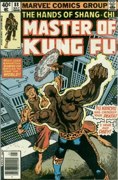 Master of Kung Fu # 88 by Mike Zeck & Gene Day