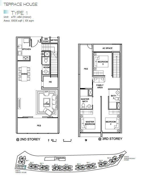 84 best architecture drawings images on pinterest kingsford waterbay terrace house type 1 malvernweather Choice Image