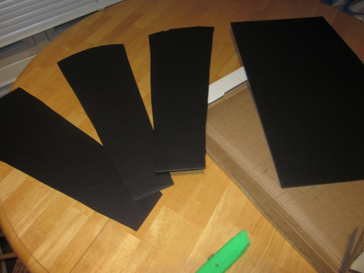 Black Foam Board For Fan Blades Ceiling Fan Costume