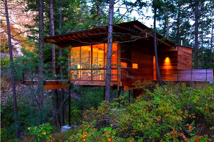 6 Cozy Eco Cabins to Snuggle Up In This Fall 6 Cozy Cabins-Porter Cabin – Inhabitat - Green Design, Innovation, Architecture, Green Building