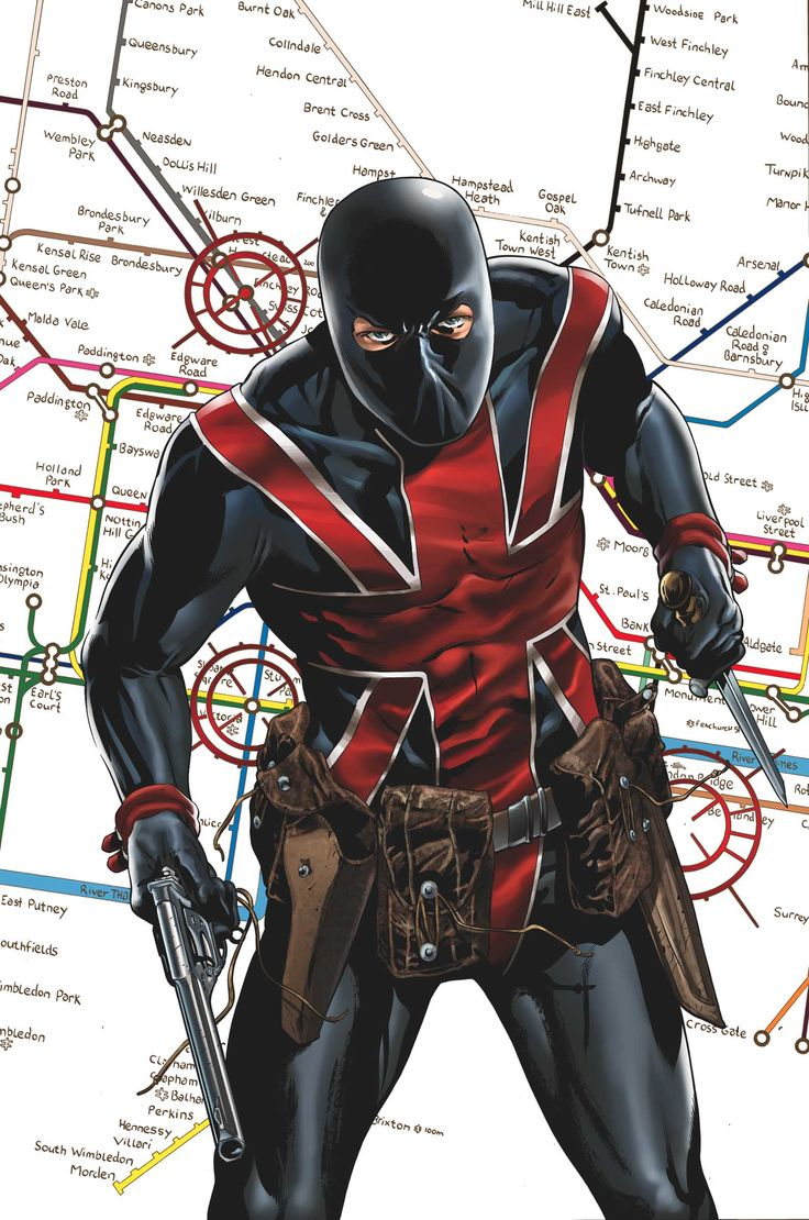 Captain Marvel Comic Book | Marvel Comics has sent us a sneak peak of Union Jack #1, by Ed ...
