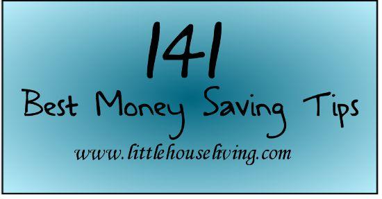 141 Money Saving Tips