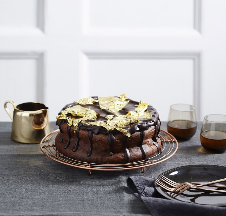 Emma Knowles recipe for rich chocolate mousse cake using Lindt chocolate.