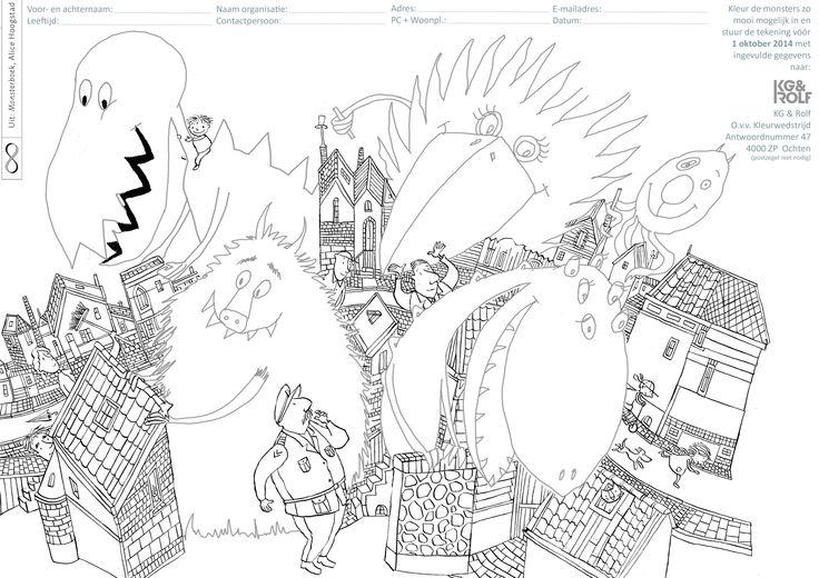 Doe mee met onze kleurwedstrijd en win het hele prentenboekenpakket van Lemniscaat uit de Nazomer special! Print de kleurplaat, kopieer 'm en laat de kinderen de kleurplaat inkleuren. Vergeet niet alle gegevens in te vullen en stuur de tekening(en) op. En wie weet wint uw klas of groep wel het hele prentenboekenpakket! We zijn benieuwd naar alle vrolijk gekleurde monsters die in onze brievenbus terecht zullen komen. https://www.kgrolf.nl/nazomerspecial