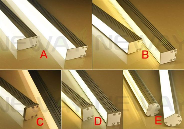 Linear Hanging Fitting LED Lamp 1M 1.2M 1.5M - Linear suspended LED Light Product Series