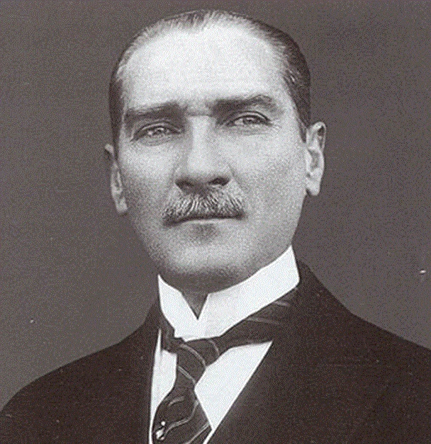 Truly one of the great men of the 20th century -  Mustafa Kemal Ataturk -   The Founder of Modern Turkey.