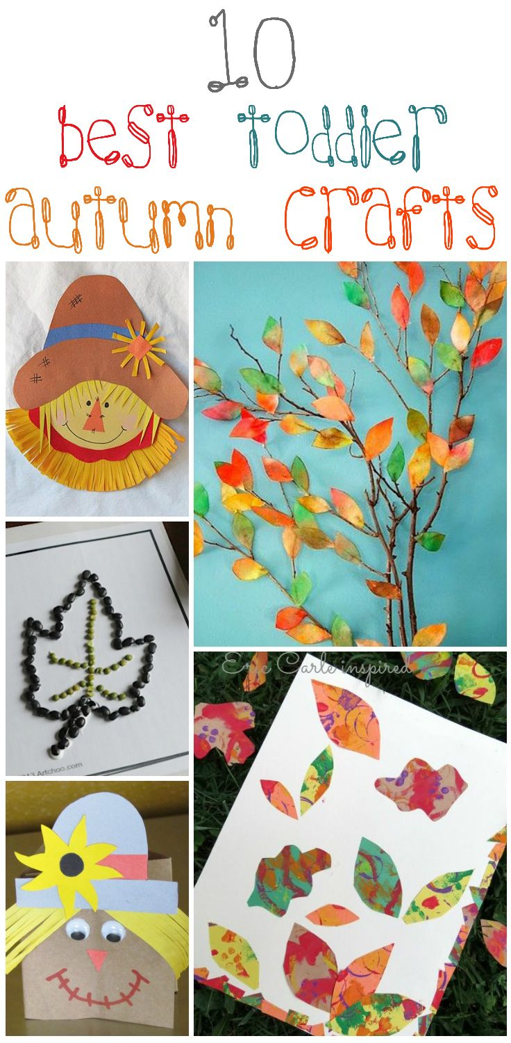 10 Of The Best Toddler Autumn Crafts For Little Hands - just the tree - could we really do that?