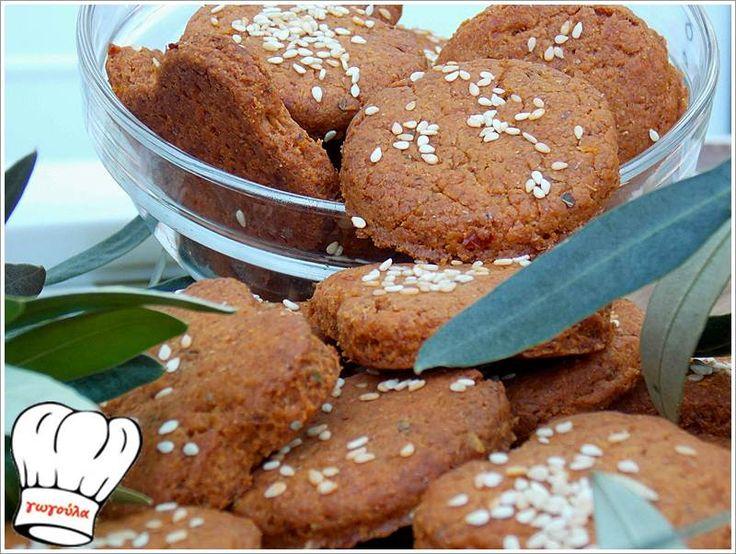 ΠΙΚΑΝΤΙΚΑ ΝΗΣΤΙΣΙΜΑ ΜΠΙΣΚΟΤΑ ΜΕ ΜΕΣΟΓΕΙΑΚΗ ΓΕΥΣΗ!!! | Νόστιμες Συνταγές της Γωγώς