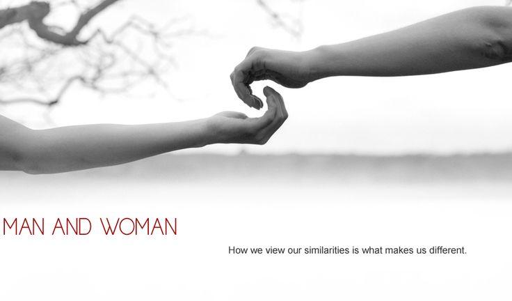 Man and woman (portfolio)