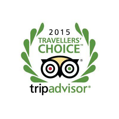 Las Ardillas - Cabañas y Suites, ganadores de Travellers  Choice 2015