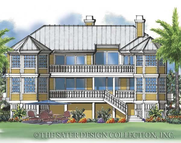 23 best Spanish Colonial Home Plans - The Sater Design Collection ...