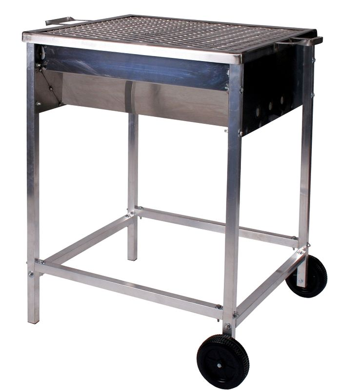 This Drum Braai ( Braai is South African for Barbecue or Grill ), is hand made in South Africa from non corrosive heavy guage stainless steel. Braai is South African for BBQ. This Charcoal BBQ is due to popular demand from our Charcoal Lovers. Once you taste the difference, you be amazed. Stainless Thickness is 1.0mm with bending to avoid weld joints. This means that this unit will not buckle or bend under the intense heat that charcoal or solid fuel develops.