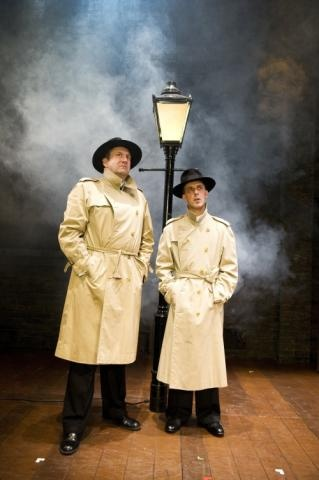 39 Steps at the Criterion Theatre Stephen Critchlow & Paul Bigley in The 39 Steps © Tristram Kenton #Westend #Theatre #London
