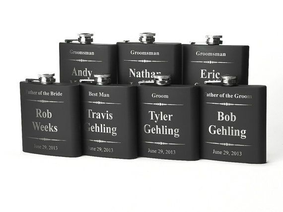 Personalized Groomsmen Gift 7 Engraved by JourneyProductions