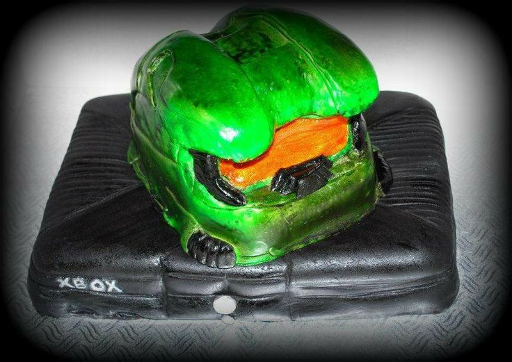 Gâteau XBOX Halo Halo XBOX cake