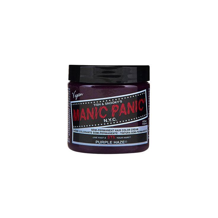 Semi-permanent hårfarve. Ikke testet på dyr. Veganer-venlige ingredienser. Farven aftager efter hver vask. Amplified-serien holder 30% længere end Classic-serien. Engelske instruktioner medfølger.  Sådan gør du: 1. Afblegning (vi anbefaler Manic Panic Hair Bleach (artikelnr. 256279). Følg instruktionerne i pakken). Anvender du en anden afblegning skal du IKKE bruge efterbehandlingsmiddel/balsam bagefter. 2. Skyl håret med rent vand. 3. Tilsæt hårfarven. Brug en kam eller en speciel…