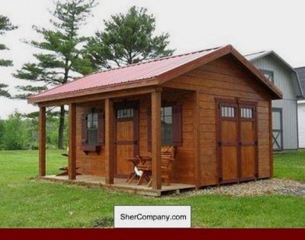 Popsugar Shed With Porch Backyard Sheds Building A Shed
