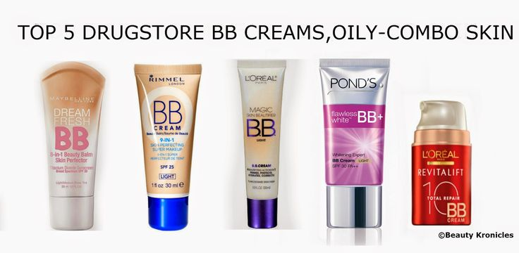 Beauty Chronicles: TOP 5 DRUGSTORE BB CREAMS FOR OILY-COMBO SKINS